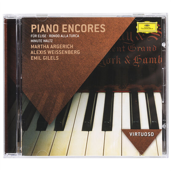 Various Artists - Virtuoso Series: Piano Encores - CD