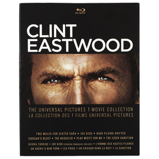 Clint Eastwood 7-Movie Collection - DVD