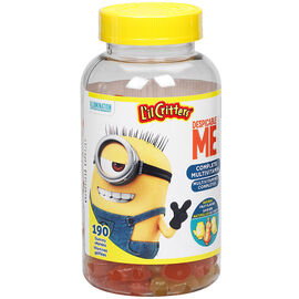 L'il Critters Gummy Multivitamin - Despicable Me - 190's