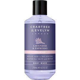 Crabtree & Evelyn Lavender & Espresso Calming Body Wash - 250ml