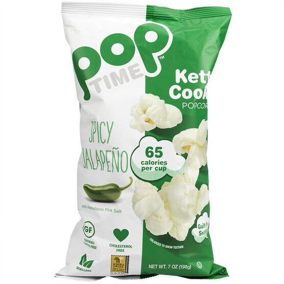 Pop Time Popcorn - Spicy Jalapeno - 198g