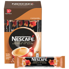 Nescafe Sweet & Creamy - Caramel - 18X19.5g