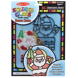 Melissa & Doug - Stained Glass Made Easy - Santa Claus