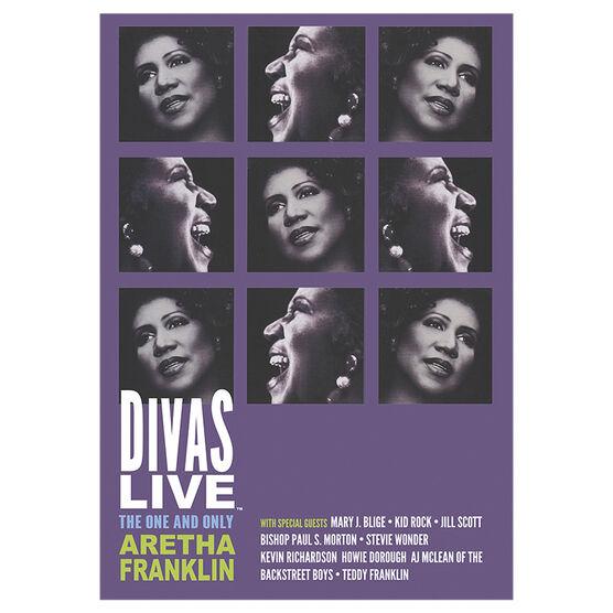 Aretha Franklin - Divas Live - DVD