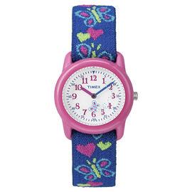 Timex Youth Girls Analogue Watch - Pink/Blue - T89001XY