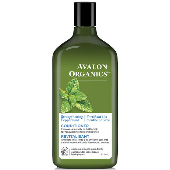 Avalon Organics Strengthening Conditioner - Peppermint - 325ml