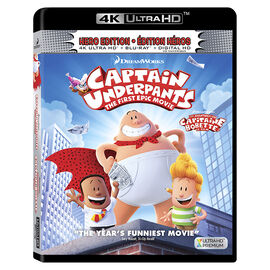 Captain Underpants: The First Epic Movie - 4K UHD Blu-ray