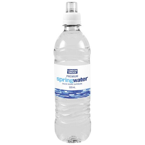 London Drugs Premium Spring Water - 500ml