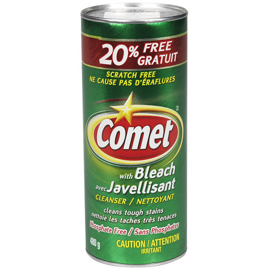 Comet Scratch Free with Bleach - 480g