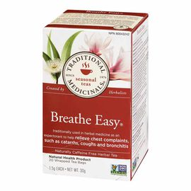Traditional Medicinals Herbal Tea - Breathe Easy - 20's