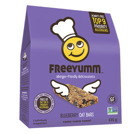 Freeyumm Oat Bars - Blueberry - 135g