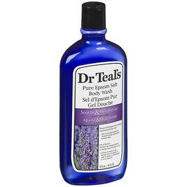 Dr Teal's Pure Epsom Salt Body Wash - Lavender - 473ml