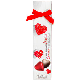 Brand Unlimited Milk Chocolate Hearts - 40g