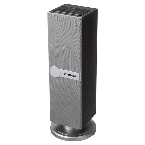 Sylvania Bluetooth Tower Speaker - Silver - SP269SILVER