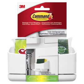 3M Command Under Sink Caddy - White - Single