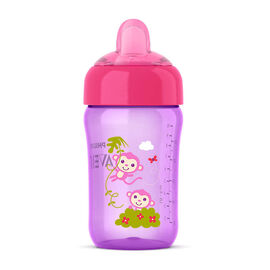 Avent Sip N' Click - 340ml - Girl - SCF555/13