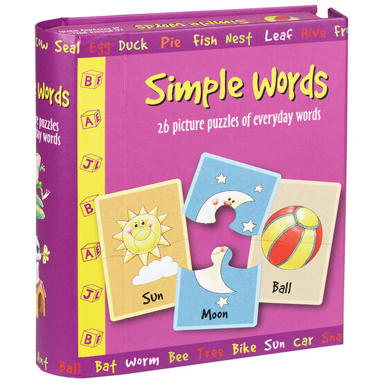 Spicebox Simple Words Puzzles