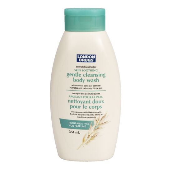 London Drugs Gentle Cleansing Body Wash - Fragrance Free - 354ml