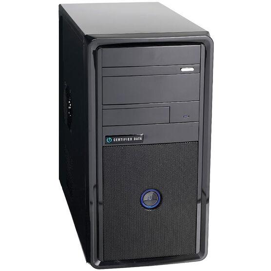 Certified Data Intel i3-7100 Desktop Computer - 240GB SSD