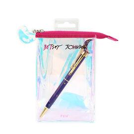 Betsey Johnson Purple Moon Pen