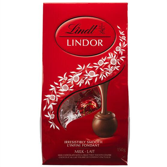 Lindor Milk Chocolate - 150g Bag