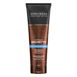 John Frieda Brilliant Brunette Multi-Tone Revealing Shampoo - 250ml