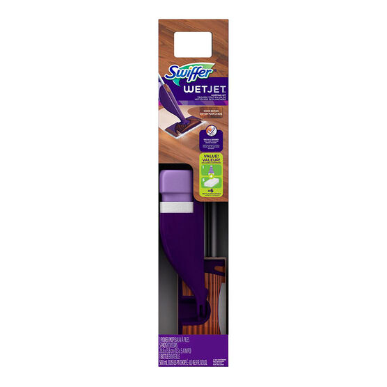 Swiffer Wet Jet Starter Kit - Wood Edition