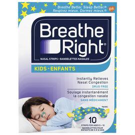 Breathe Right Kids Nasal Strips - 10's