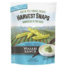 Calbee Harvest Snaps Green Pea Crisps - Wasabi Ranch - 93g