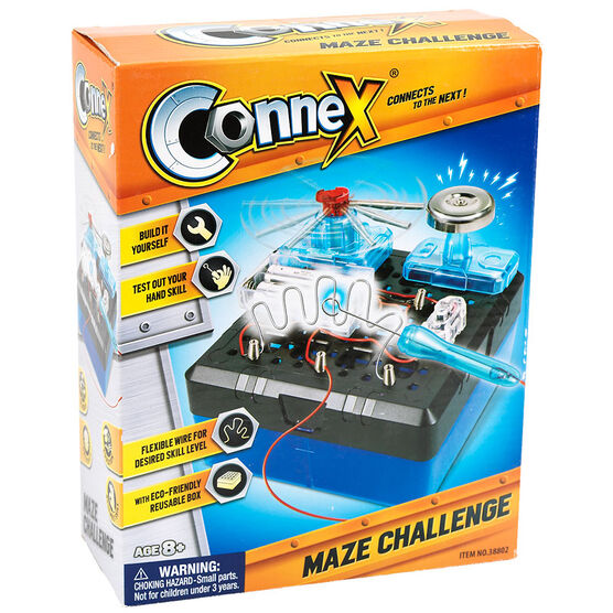 Connex Connects to the Next - Maze Challenge