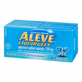 Aleve Liquid Gels 220mg - 40's