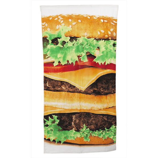 Hamburger Printed Towel