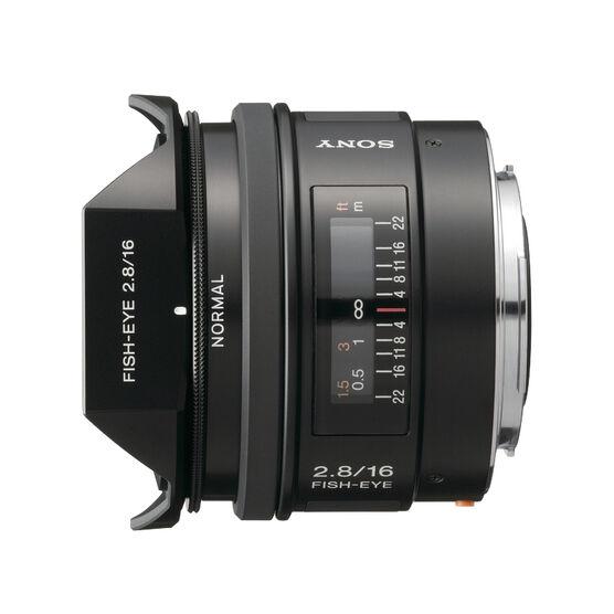 Sony 16mm f/2.8 Fisheye Lens - SAL16F28