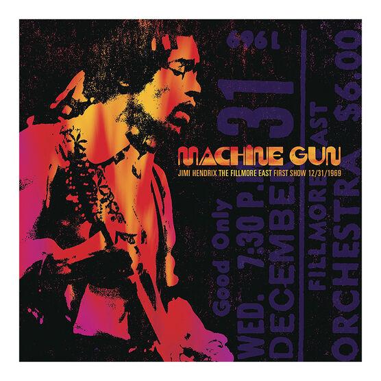 Jimi Hendrix - Machine Gun: The Fillmore East First Show (12/31/1969) - Vinyl
