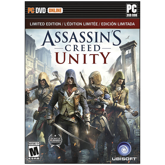 PC Assasins Creed Unity: Limited Edition