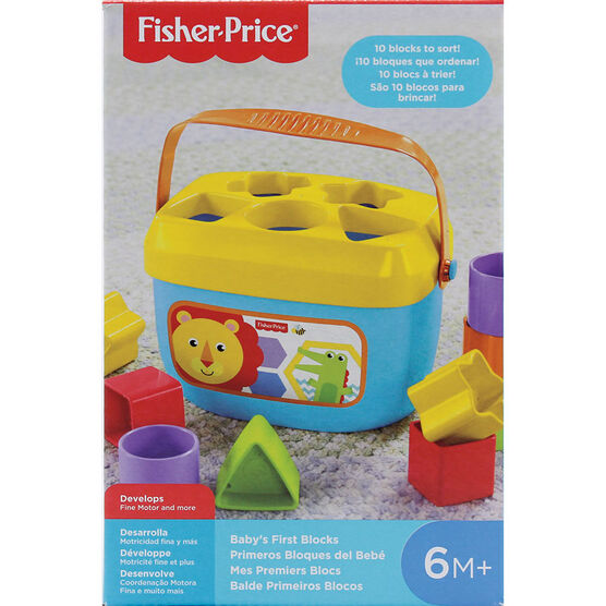 Fisher Price Baby's First Block