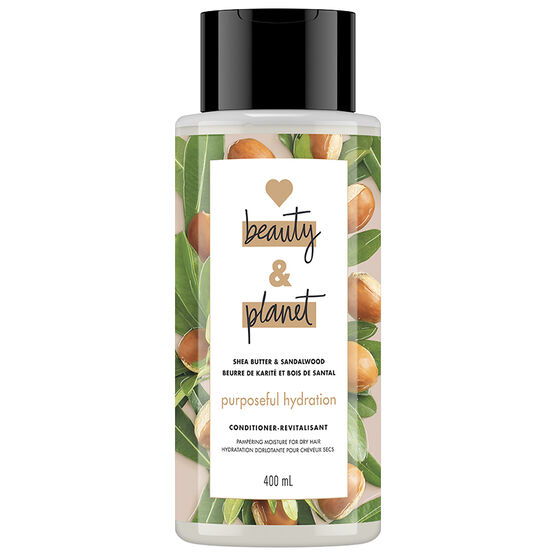 Love Beauty And Planet Purposeful Hydration Conditioner - Shea Butter & Sandalwood - 400ml