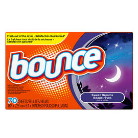 Bounce Dryer Sheets - Sweet Dreams - 70's