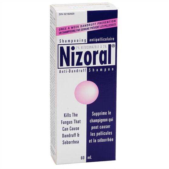 Nizoral* Anti-Dandruff Shampoo Treatment - 60ml