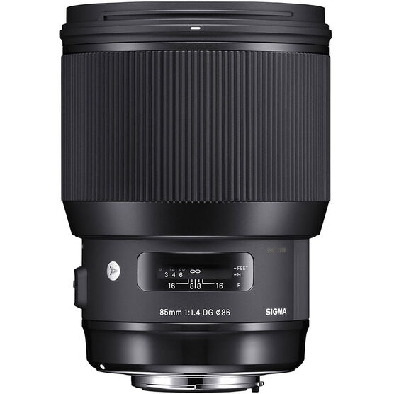 Sigma Art 85mm F1.4 DG Lens for Nikon - A85DGHN
