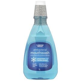 London Drugs Antibacterial Mouthwash - Peppermint - 1L