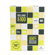 Rolland Copy 100 Recycled Printer Copier Paper - 500 Sheets - 92 Brightness - 20 Lb.