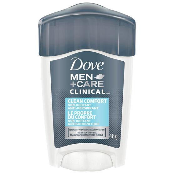 Dove Men+Care Clean Comfort Non Irritant Anti-PerspirantStick - 48g