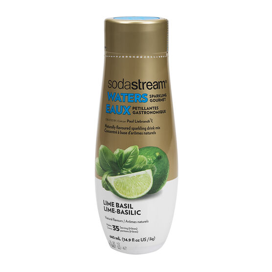 SodaStream Sparkling Water - Lime Basil - 440ml