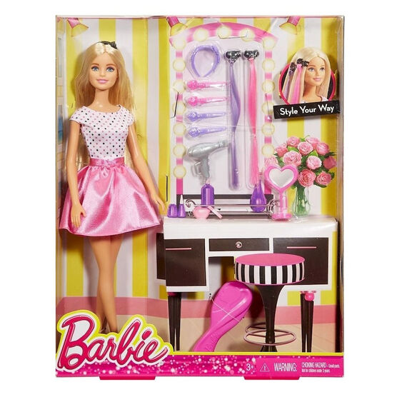 Barbie Style Your Way Doll