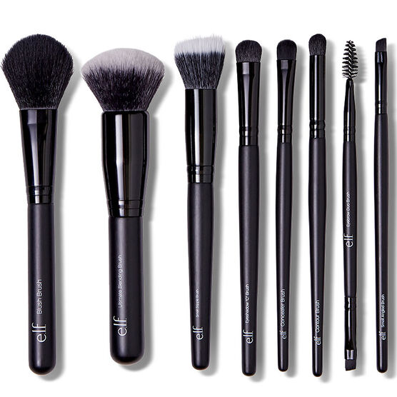 e.l.f. Luxe Brush Collection Set - 8 piece
