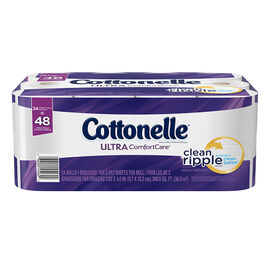 Cottonelle Ultra Comfort Care Bathroom Tissue - 24's/Double Rolls