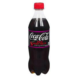 Coca-Cola Cherry Zero - 500ml