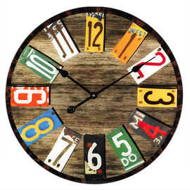 London Drugs Glass Wall Clock - Vintage
