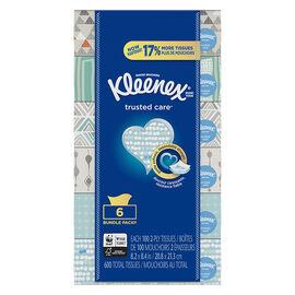 Kleenex Trusted Care Tissues - 6 x 100's